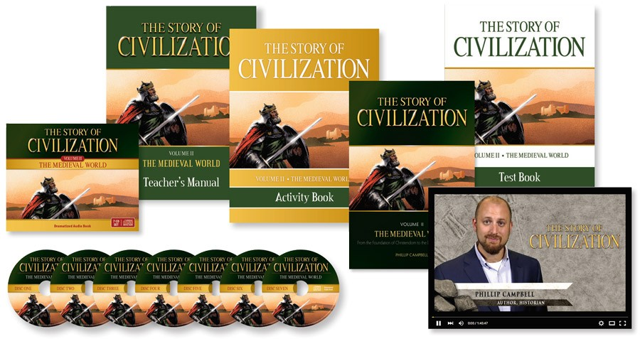 Story of Civilization Medieval Set