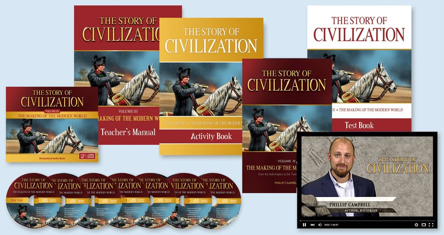 Story of                                         Civilization Modern World Set