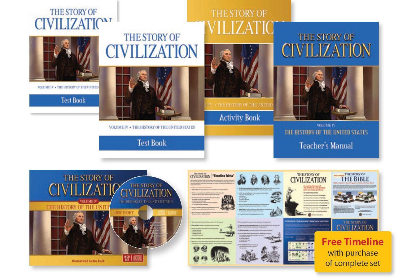 Story of                                         Civilization United States Set