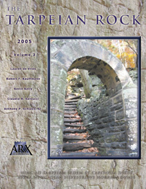 Tarpeian Rock 2005 issue