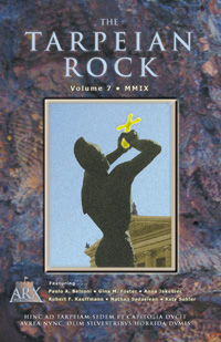 Tarpeian Rock 2009 issue